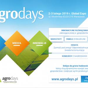 Program Agro Days. Dni Hodowcy