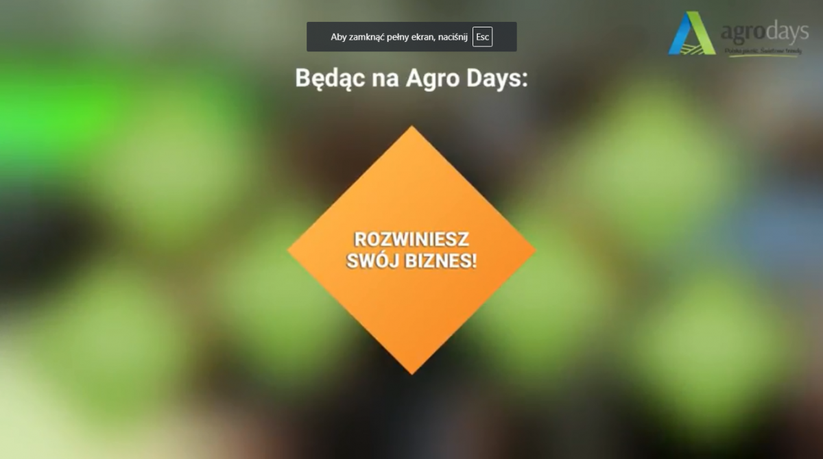 Agro Days 2019 - dołącz do...